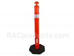 T Top 42 inch orange delineator post