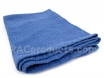 Reclaimed blue towels