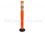 Flexible Fiberglass Orange delineator post