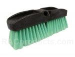 Extra soft nylon flow-through pre wash dip brush.