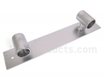 Double end guide rail cleat